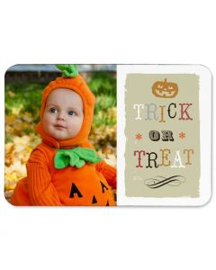 Trick Or Treat 3.5X5 Magnet