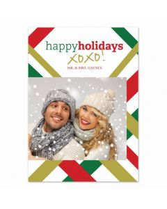 Xo Holidays Card