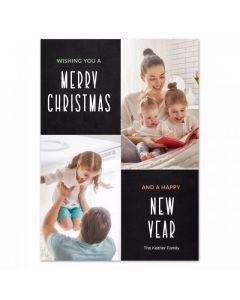 Tall Christmas Card