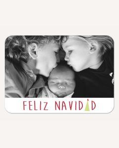 Feliz Navidad 5x7 Card