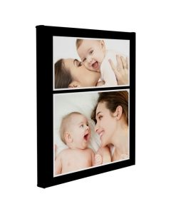 Black Border Wrapped Canvas Print