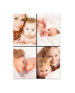 Four Photos Collage Print