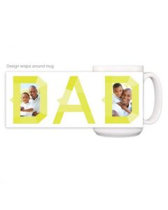 Neon Dad Mug