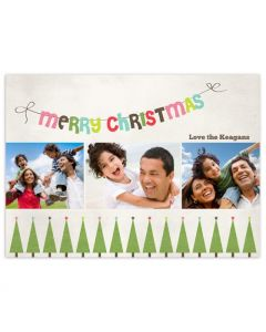 Christmas Tree Lot Card