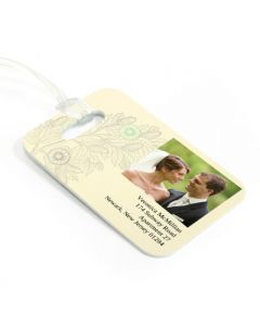 Acorn Luggage Tag