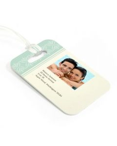 Tropical Luggage Tag