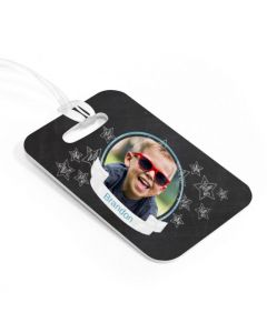 Chalkboard Luggage Tag