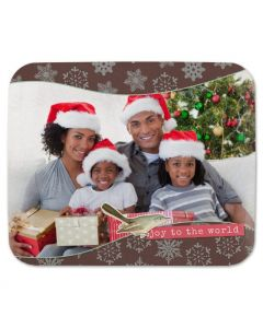 Snowflake Blessings Mouse Pad