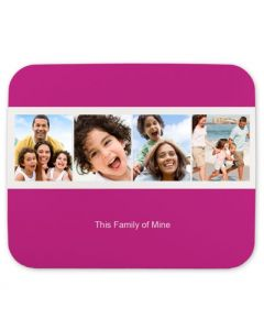 So Modern Pink Mouse Pad
