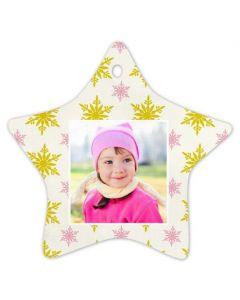 Falling Snowflakes Ornament