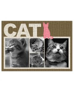 Sitting Cat 252 Piece Puzzle