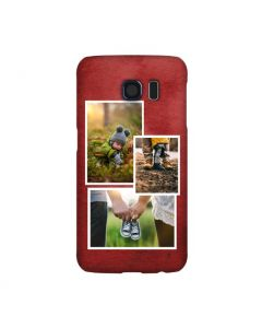 Red Collage Samsung Galaxy Case