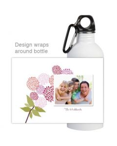 Peonies Water Bottle
