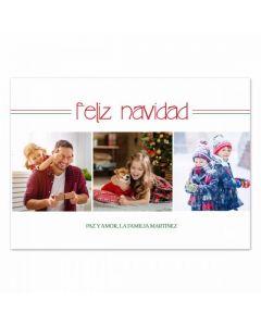Feliz Family Card