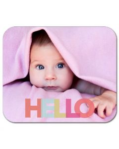 Big Hello Mouse Pad