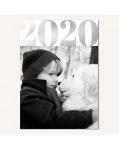 2020 FOIL 5x7 Card