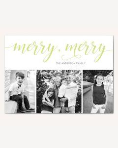Merry Merry 5x7 Card