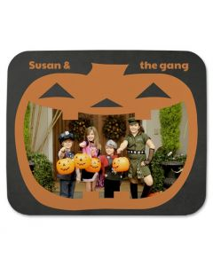 Smiling Pumpkin Mouse Pad