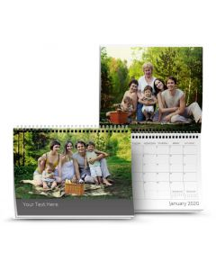 Classic Taupe Calendar