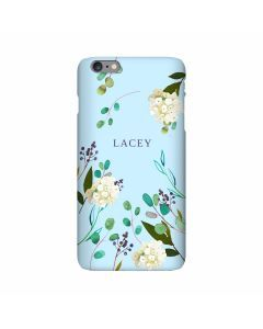 Berry Blue iPhone Case