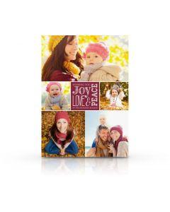 Joy, Love & Peace Card