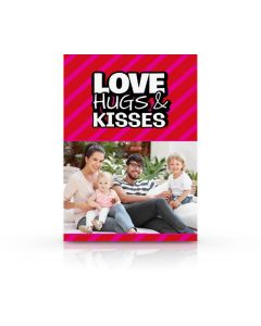 Love, Hugs, & Kisses Card