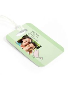 Lovebirds Luggage Tag