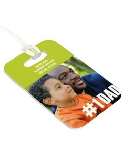 #1 Dad Luggage Tag