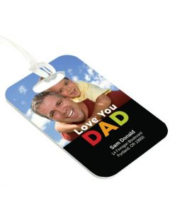 Love You Dad Luggage Tag