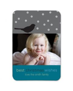 Best Christmas Wishes 2.5x3.5 Magnet