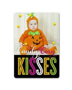 Candy Corn Kisses 3.5X5 Magnet