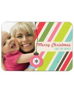 Vintage Christmas 3.5X5 Magnet
