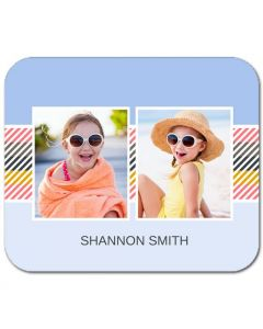 Candy Stripe Mouse Pad
