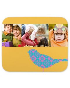 Christmas Bird Mouse Pad