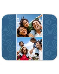 Circles Menorah Mouse Pad