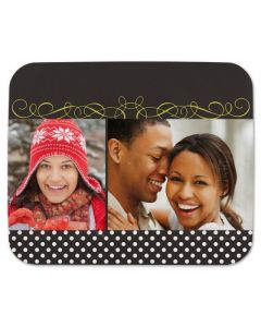 Decorated Christmas Mouse Pad