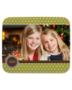 Loverly Snowflakes Mouse Pad