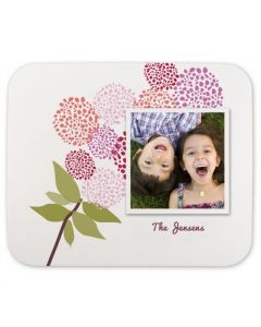 Peonies Mouse Pad