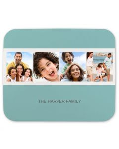 So Modern Blue Mouse Pad