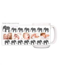Mom Elephant Mug