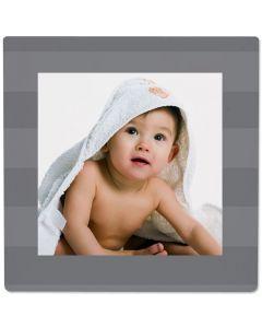 Stripe Gray Photo Panel