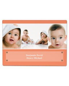 Peach Photo Panel