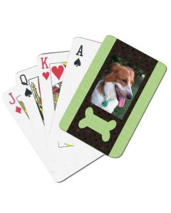 Dog Bone Custom Playing Cards