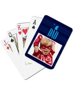 First Rate Dad Custom Playing Cards