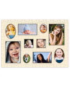 Vintage Frames 252 Piece Puzzle
