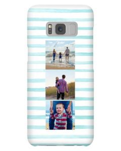 Blue Stripe Samsung Galaxy Case