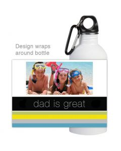 Dad is Great Water Bottle